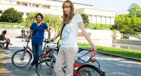 campusrad an der Christian-Albrechts-Universität zu Kiel